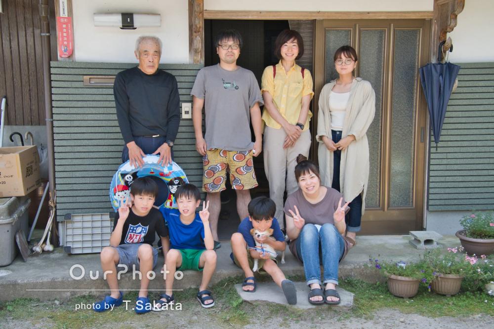 「クオリティーが高く大満足」大自然の中で楽しそうに遊ぶ家族写真の撮影