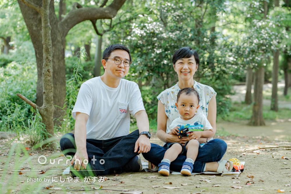 「今しか残せない、幸せな写真」今だけの貴重な姿を捉えた家族写真の撮影