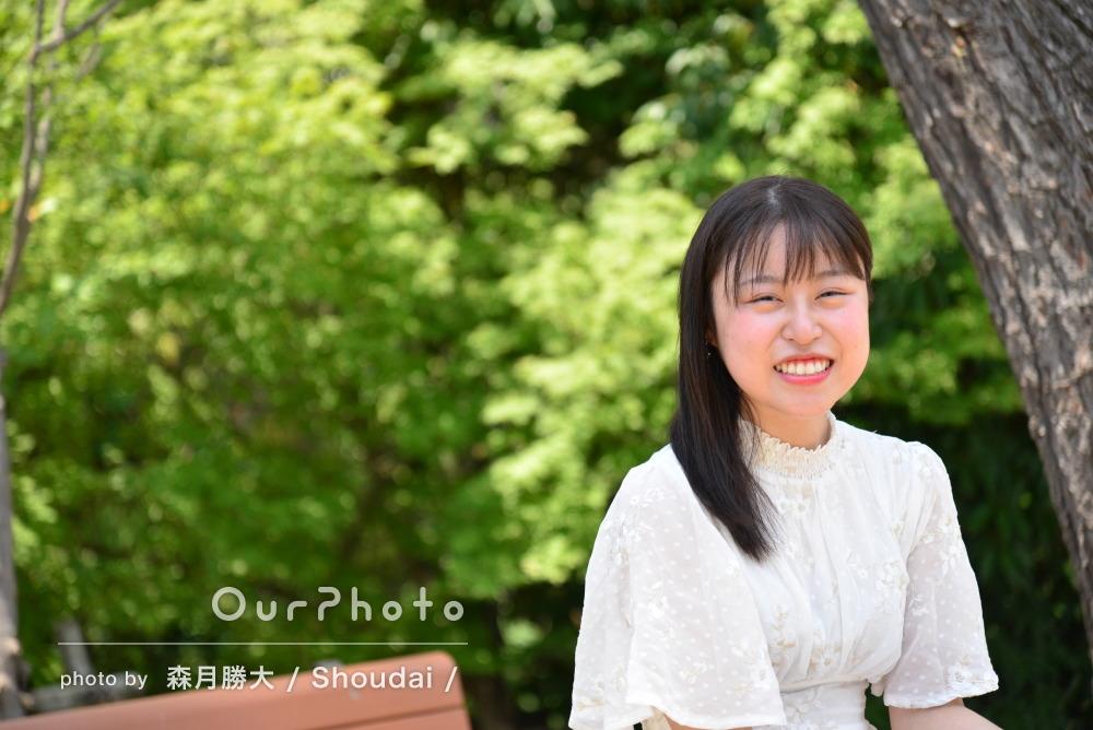 「素敵な写真を沢山撮って頂けて、凄く幸せ」プロフィール写真の撮影