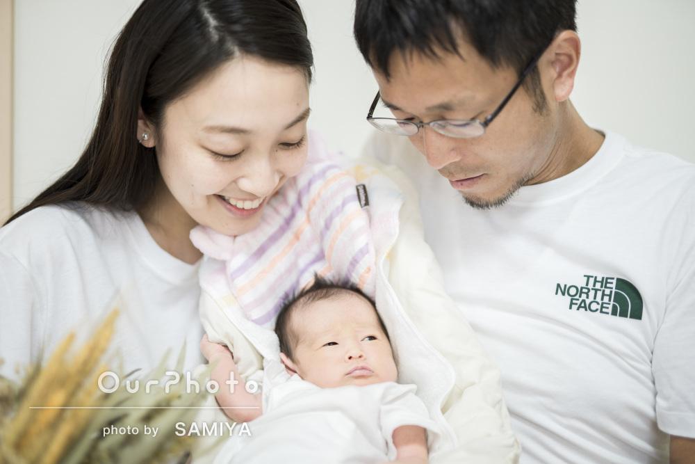 「素敵な写真を沢山撮っていただけ」優しい雰囲気の素敵な家族写真の撮影