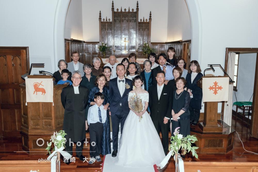 「家族ともども素敵に撮ってもらえたねと感謝」ウェディングフォトの撮影