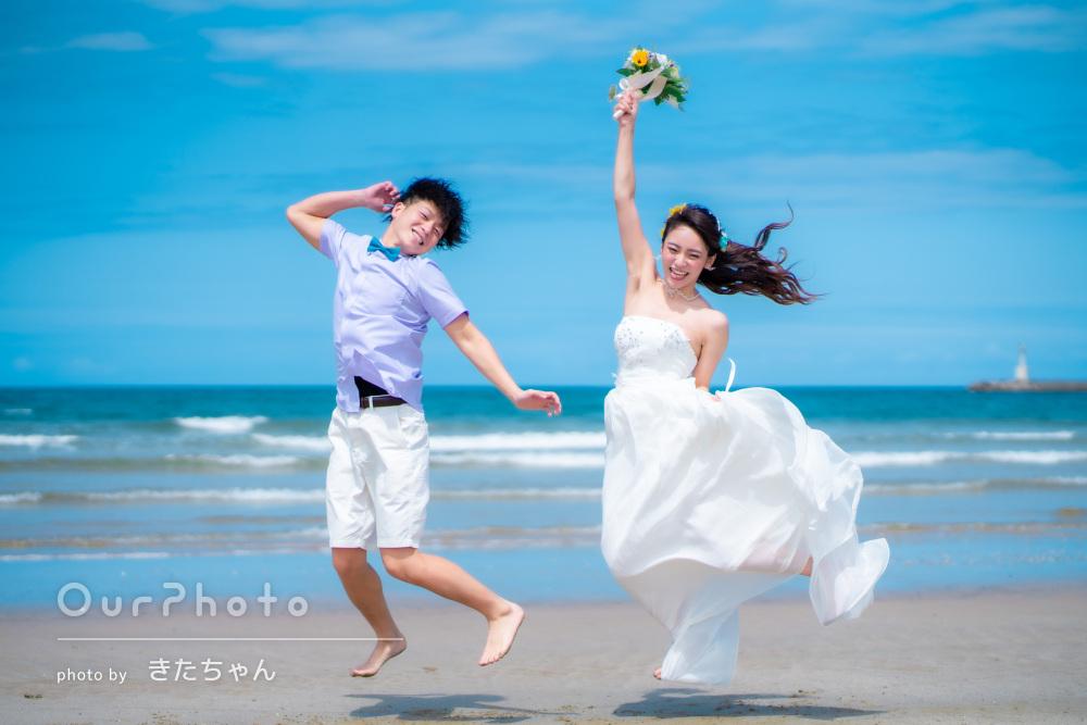 「とても素敵な写真が沢山撮れました」お洒落なカップルフォトの撮影