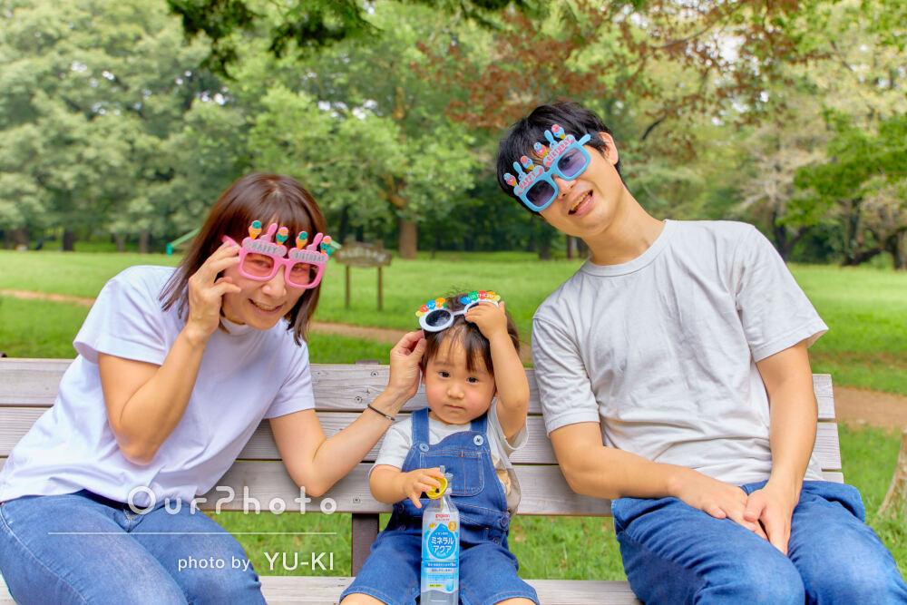 「自然な表情をたくさん撮っていただきました」楽しげな家族写真の撮影