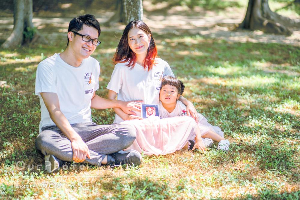 「撮りたかったアングルやポーズも余すことなく」家族写真の撮影