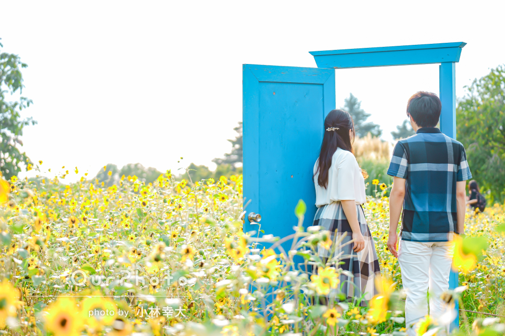 「ちょっと照れてしまうようなポーズも」入籍日記念にカップルフォト撮影