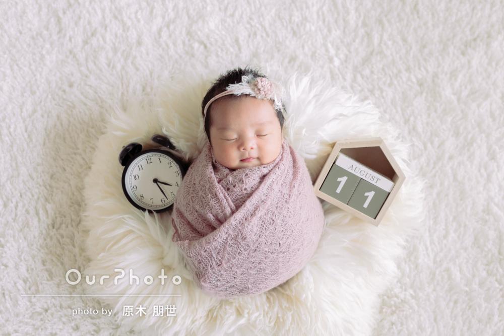 何度も見返したくなる!優しい寝顔が可愛いニューボーンフォトの撮影