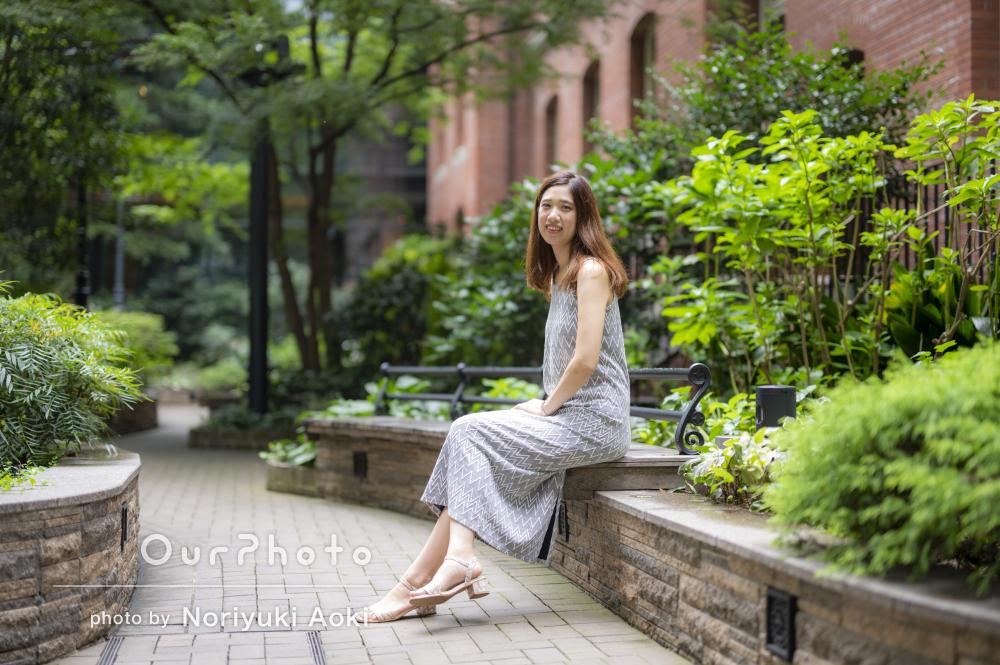 「イメージ通りの写真が撮れて大変満足」女性プロフィール写真の撮影