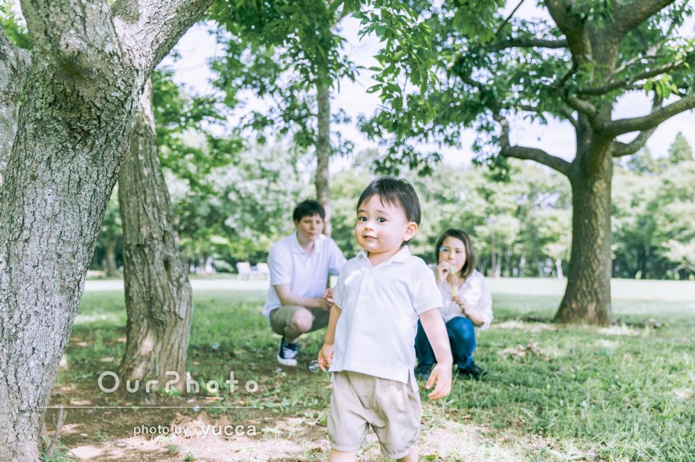 「息子とも始めから仲良くなってくれて」人懐っこい笑顔で家族写真の撮影