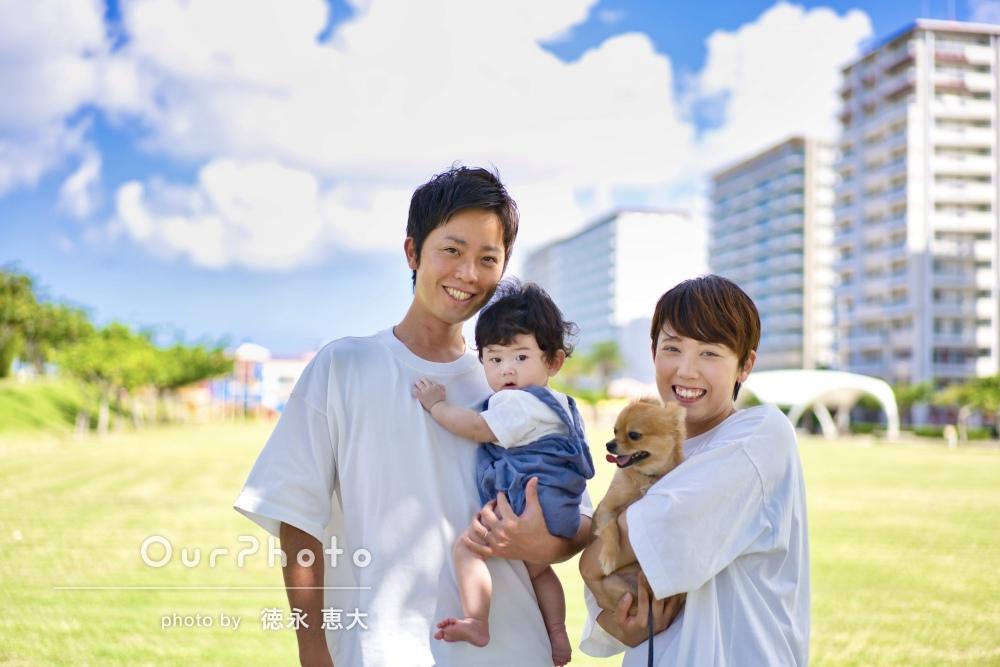 「仕上がりもとても素敵で家族みんな大満足」ハーフバースデイフォト撮影