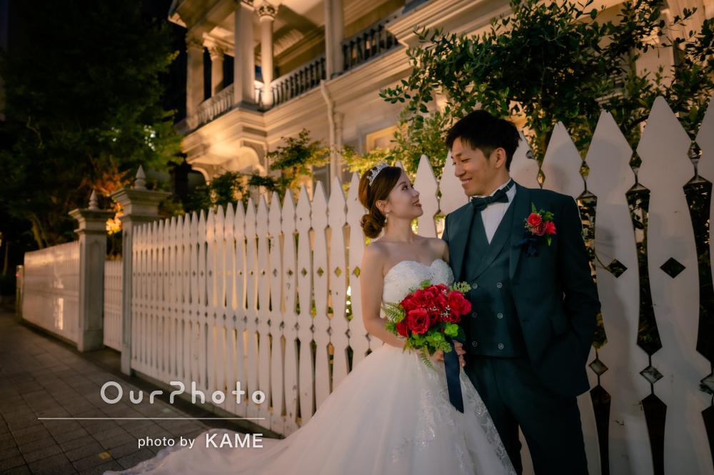 「写真の仕上がりもとても綺麗でした」ドレスを着てカップルフォトの撮影