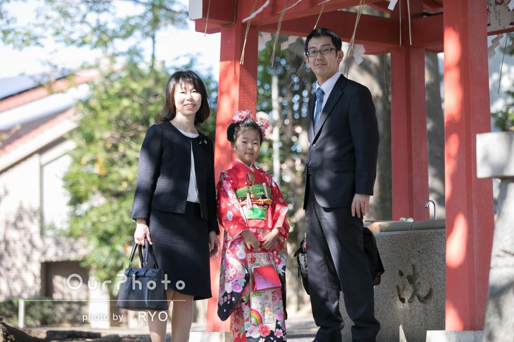 「家族な自然なやりとりを綺麗な写真に」7歳の七五三詣りの撮影