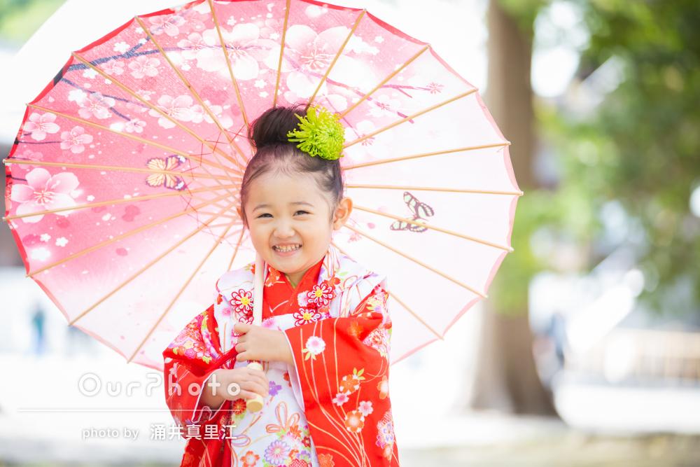 「子供も楽しく撮影でき素敵な写真を撮ってもらい」家族で七五三の撮影
