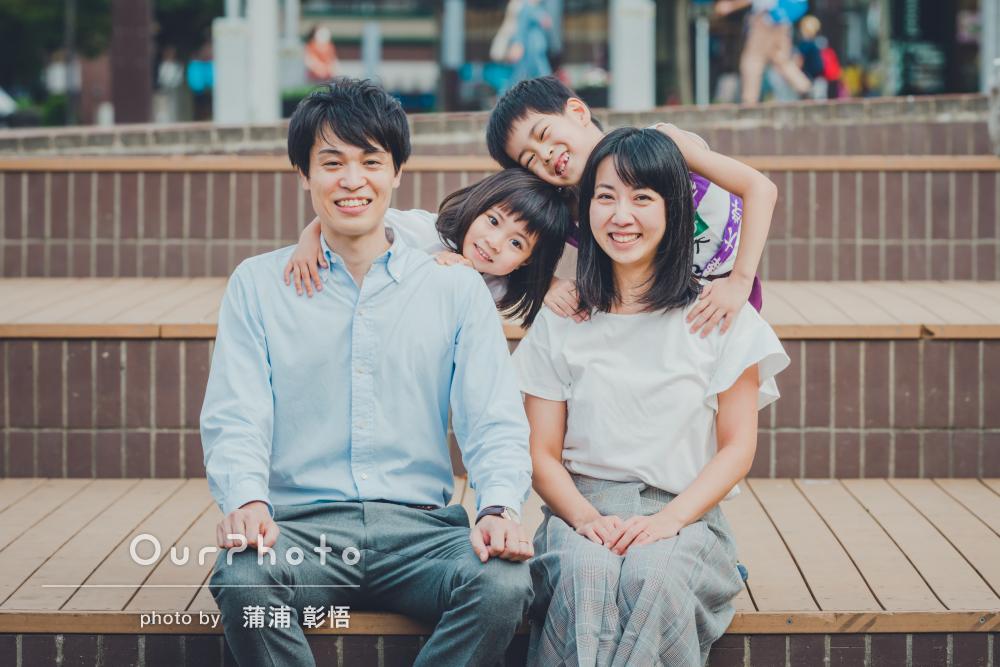 「早い動きでも完璧な仕上がりに大変満足」元気いっぱい家族写真撮影