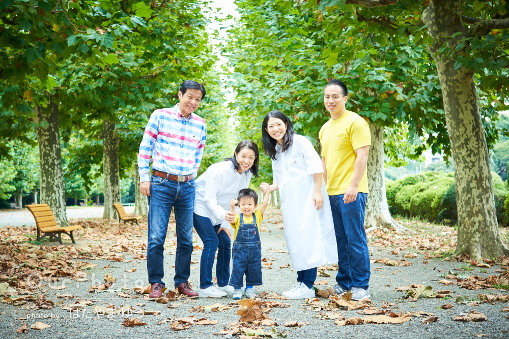 「できあがった写真は全て想像以上」大切な記念に家族写真の撮影