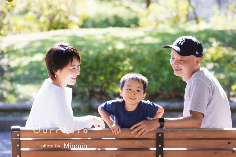 「今回の撮影自体が家族の一大イベントになりました」家族写真の撮影