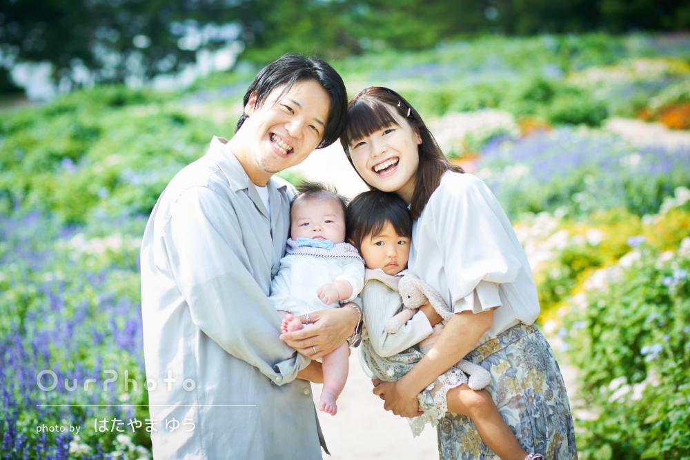 「出来上がりの写真の素晴らしさにも感動です」素敵な家族写真の撮影