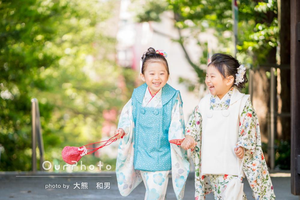 「自然でとてもいいお写真」弾ける笑顔をたくさん!3歳の七五三の撮影