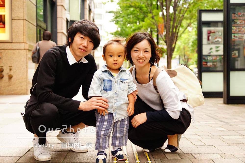 「家族写真ハマりそうです!」家族写真の撮影