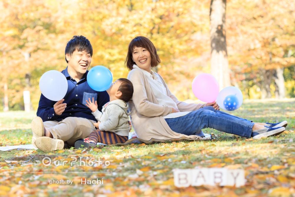 「とても良い思い出に」家族写真とマタニティフォトの撮影