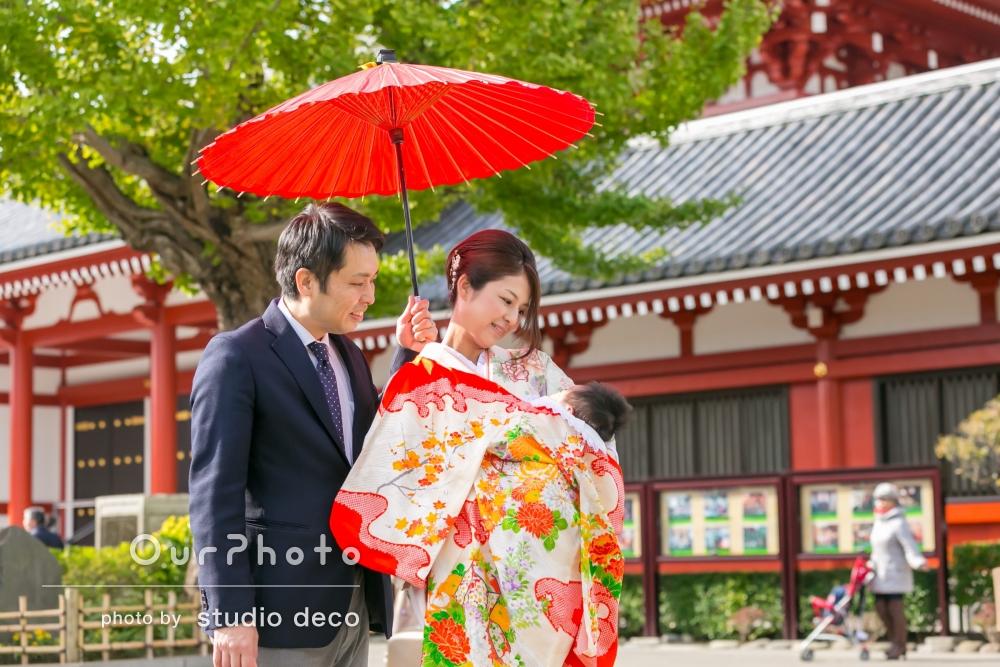 「理想通りの良い写真」お宮参りの撮影
