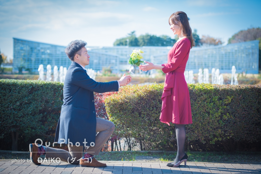 「本当に満足」結婚式用の写真撮影