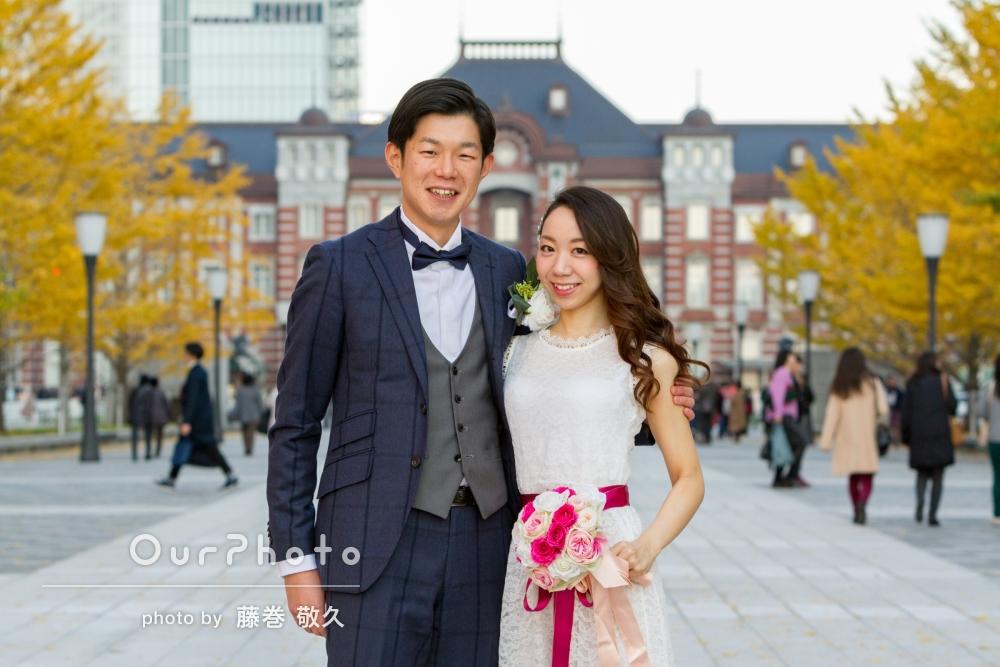 「夫婦ともども大満足」結婚式の前撮り写真の撮影