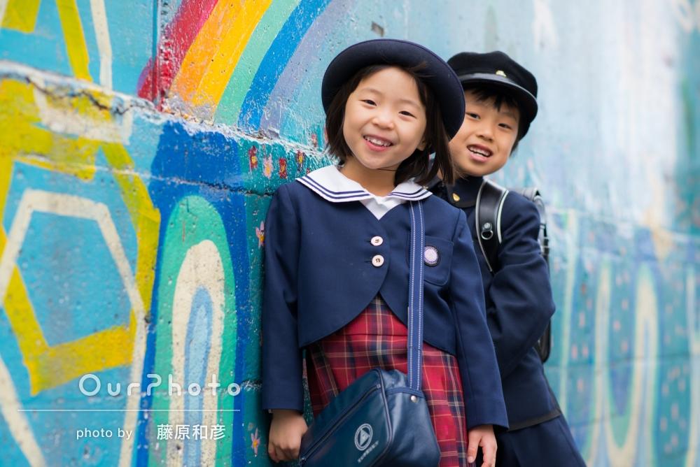 「とても大満足な写真」仲良し兄妹の撮影