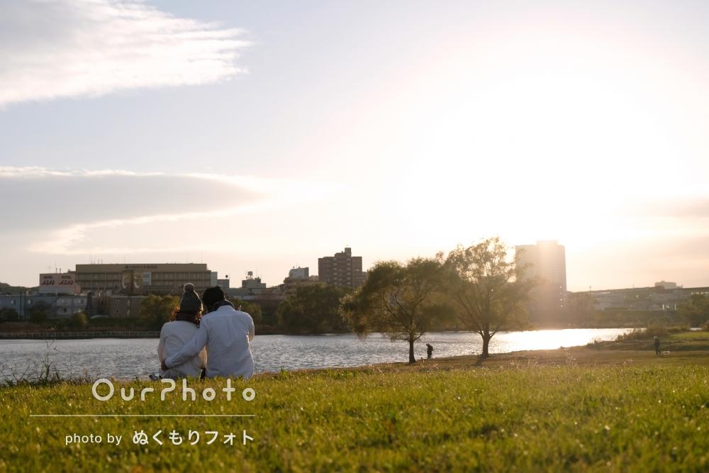 「とても楽しい時間」エンゲージメントフォトの撮影