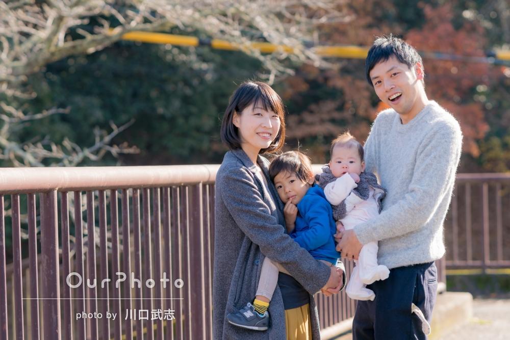 「こんなにきれいに残せるなんて!」家族写真の撮影