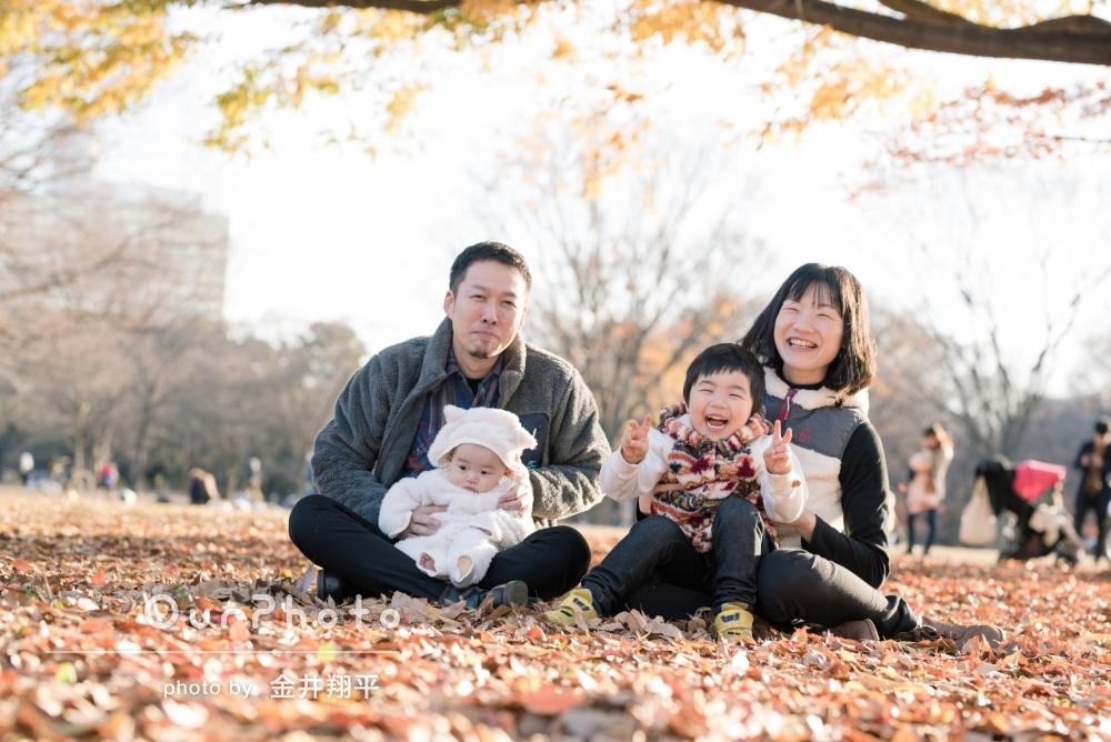 まるで思い出そのもの。あたたかい家族写真の撮影