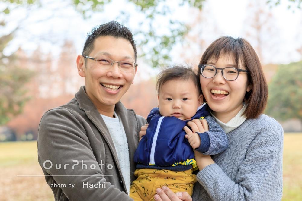 「とても素敵な思い出」家族写真の撮影