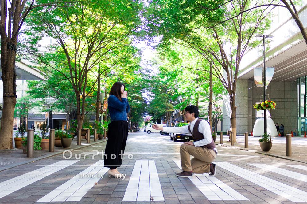 「結婚式用の私服撮影をしていただきました!」エンゲージメントフォトの撮影