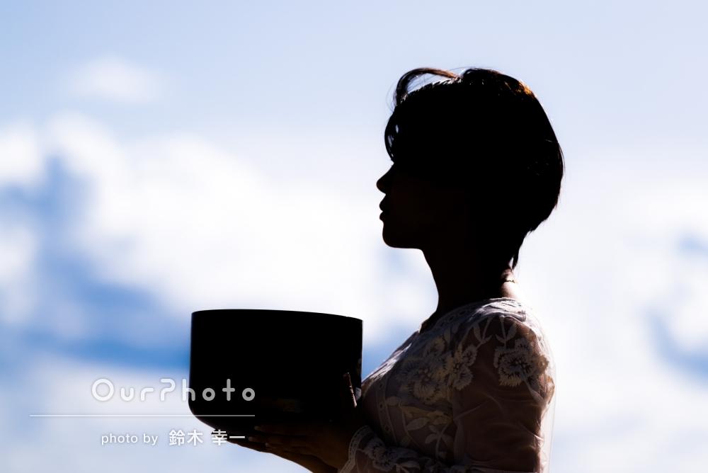 沖縄で、宣材用のアーティスト写真を撮影してほしい!