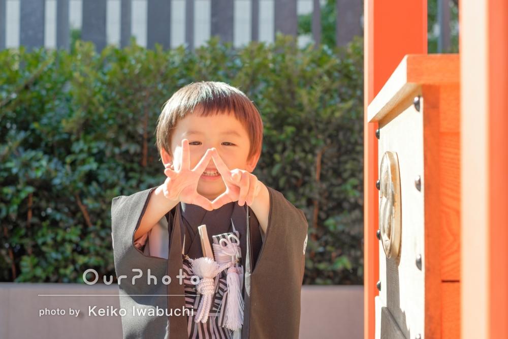 「家族で大満足」お子様の3歳記念に神社へ出張撮影