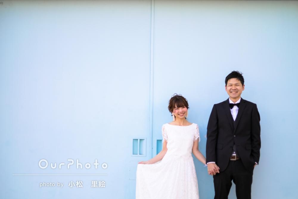 「結婚式に素敵な写真使わせていただきます」ウェディングフォトの撮影