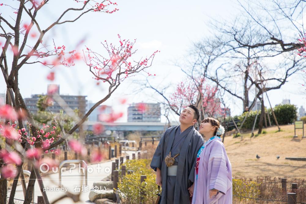 「とっても楽しい結婚記念日デート」カップルフォトの撮影