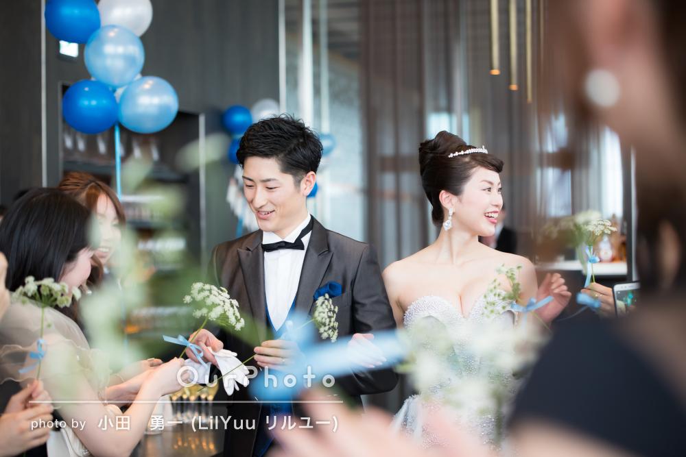 「友人の素敵な笑顔や私達の幸せな場面ばかり」結婚式二次会の撮影