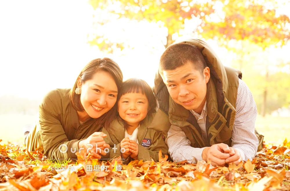 「子どもと打ち解けるスピードがさすがでした!」家族写真の撮影