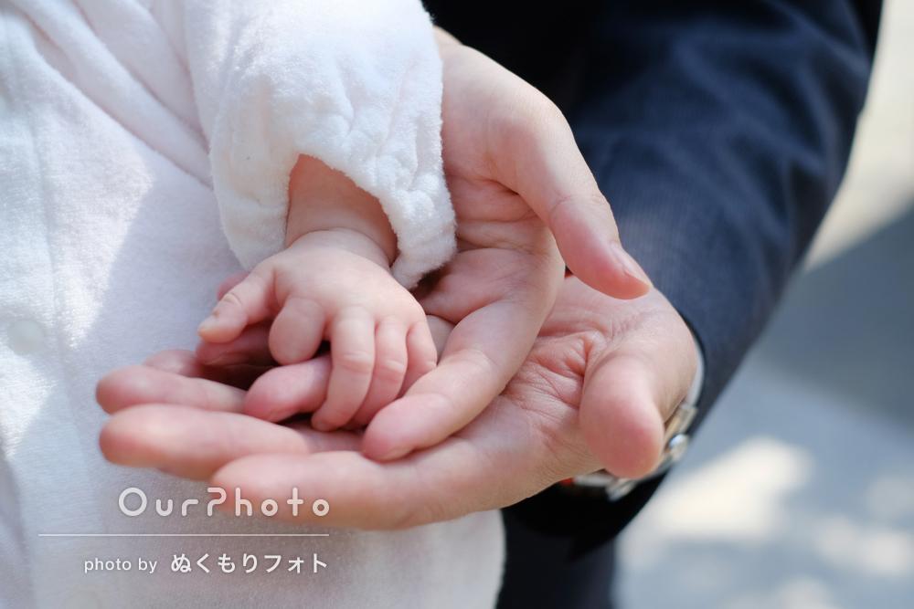 「おかげで大変素敵な思い出と写真」お宮参りの撮影