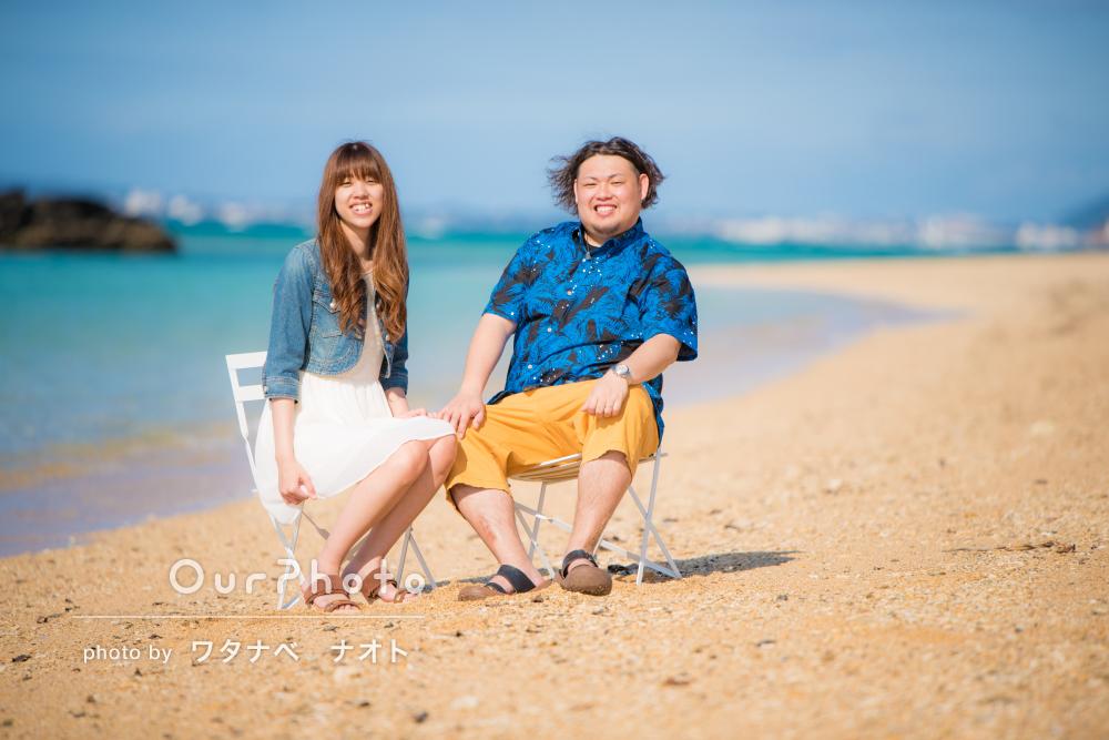「大変満足」旅先の沖縄で、ふたりだけの思い出フォト撮影