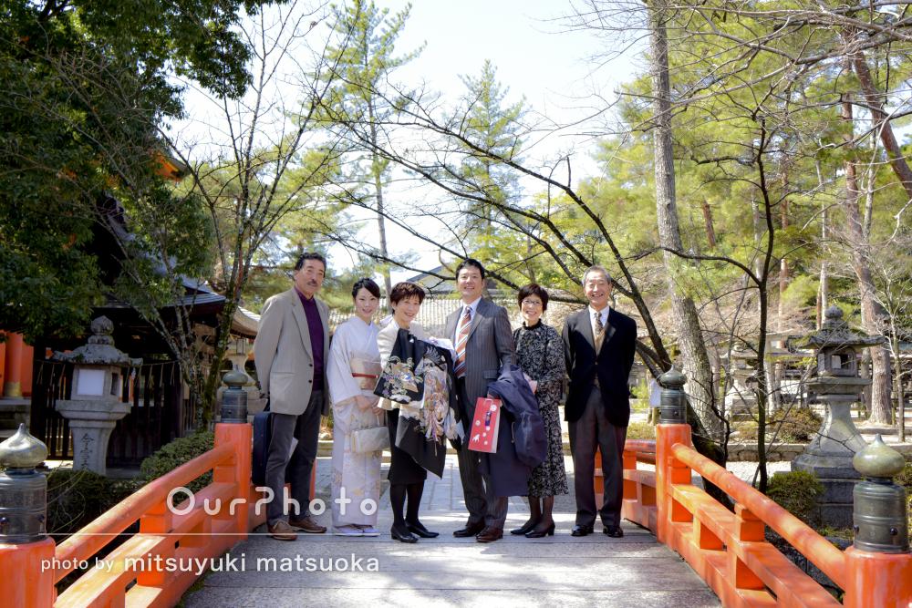 「全ての写真に…家族の楽しそうな姿」お宮参りの撮影
