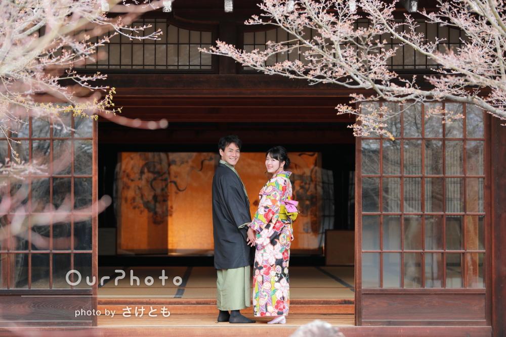 「明るく楽しい撮影時間」仲睦まじいご夫婦の京都散策を撮影