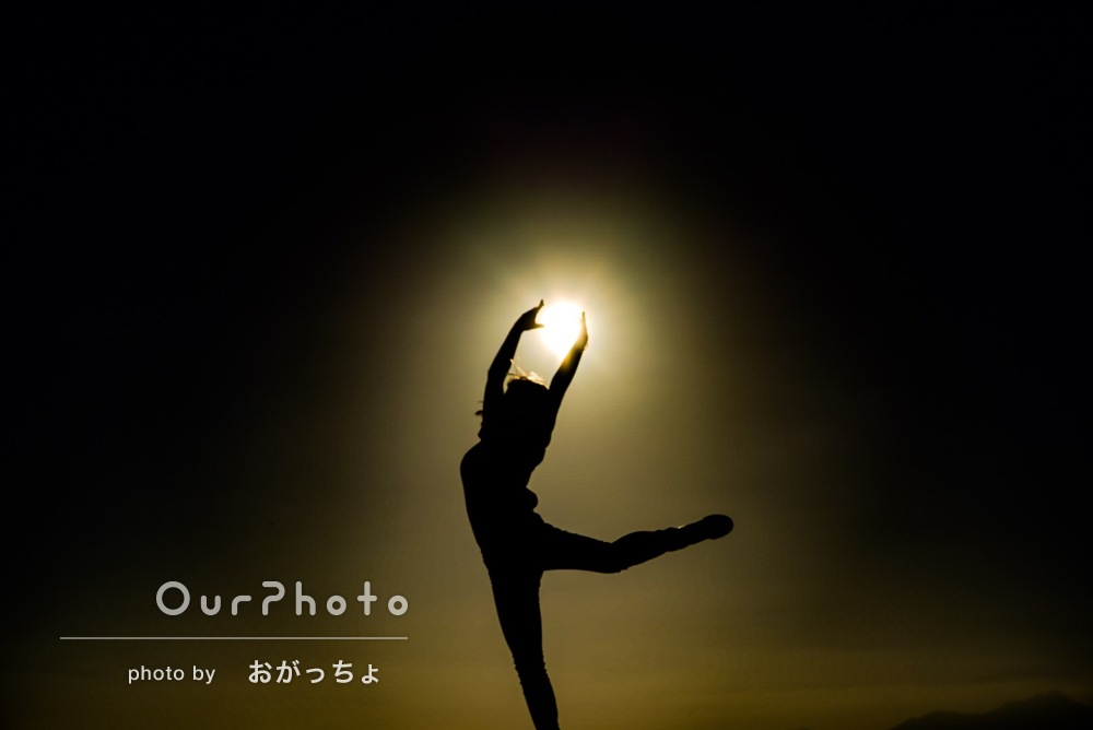 アーティスティックなプロフィール写真の撮影