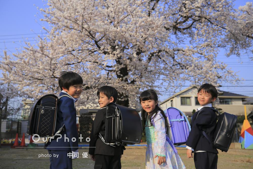 「思っていた通り」ママ友親子4組で卒園&入学記念の撮影