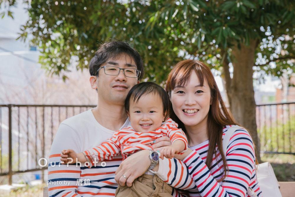 「ベストな笑顔を沢山撮影頂いた」家族写真の撮影