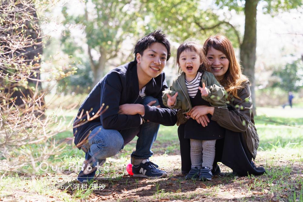 「いい写真ばかりで大満足」2歳のお誕生日に家族写真の撮影