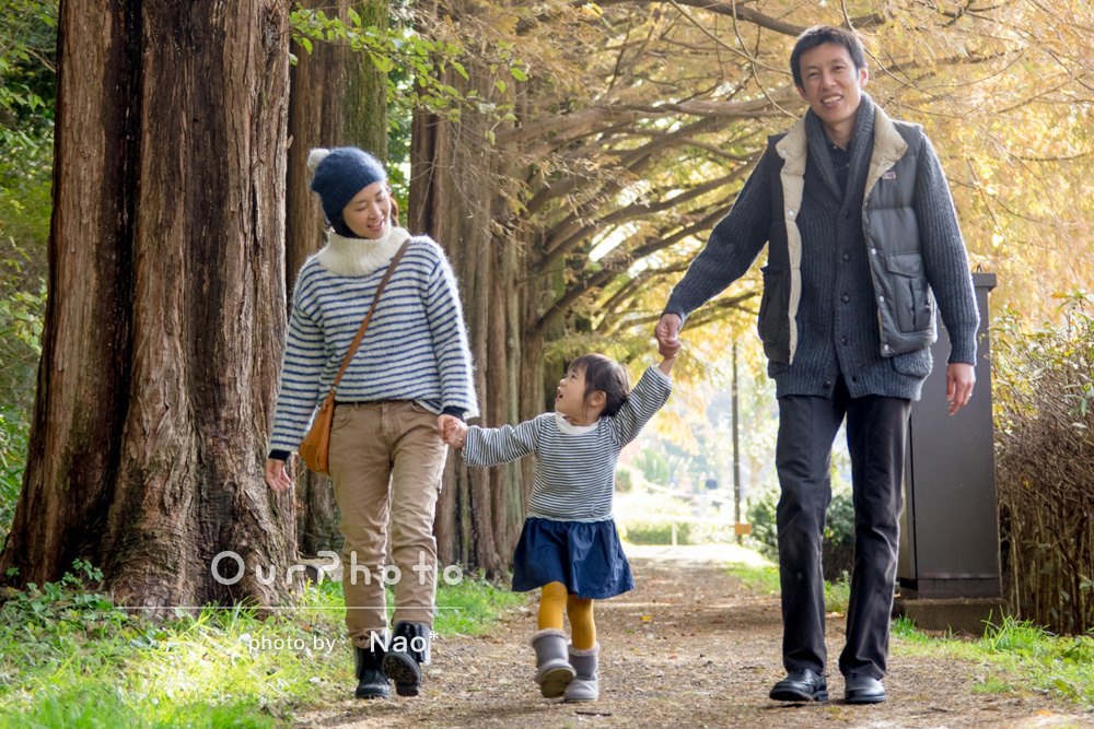 「年に1度残しておきたい家族写真、よい記念に」家族写真の撮影