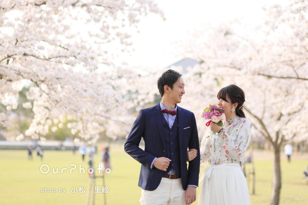 「撮影時間もとても思い出に」結婚式の前撮り写真の撮影