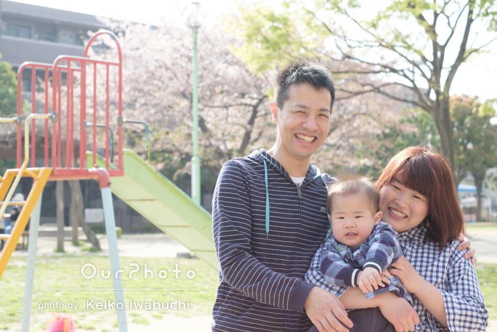「安心して撮影に臨めました」優しい雰囲気の家族写真