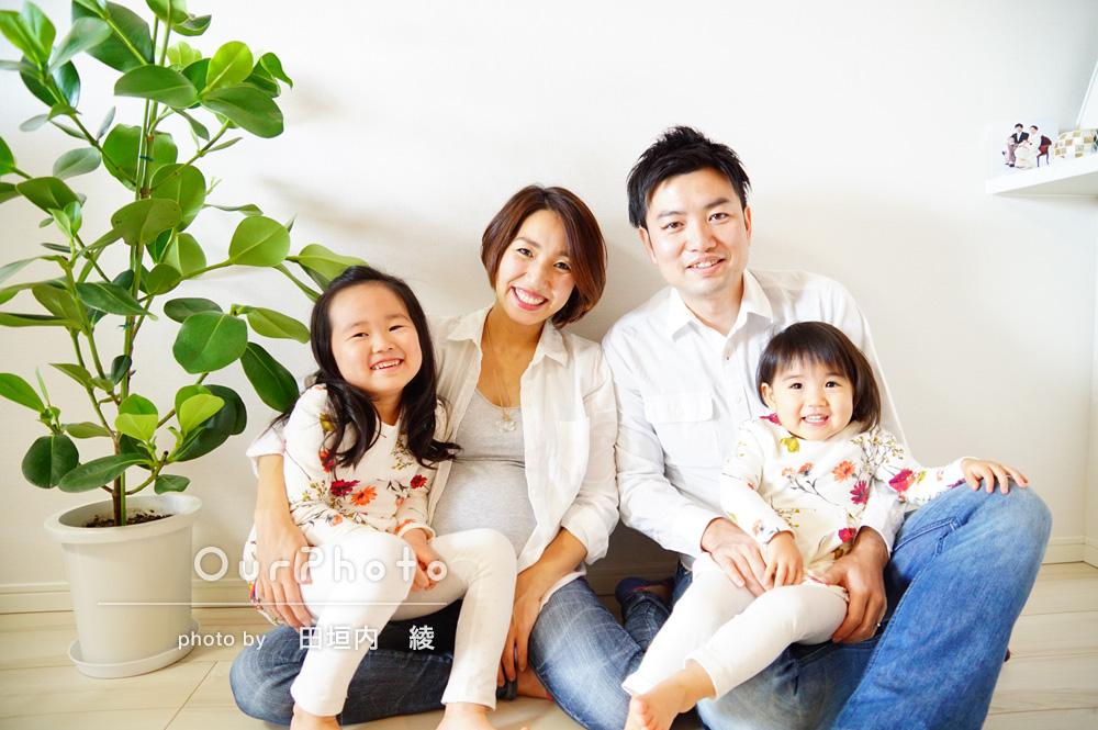 「自宅マンションで出張撮影をお願いしました!」家族写真の撮影